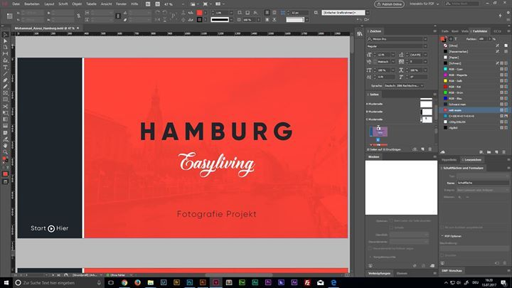 Working on a new Project  #Hamburg #Photograph #Design