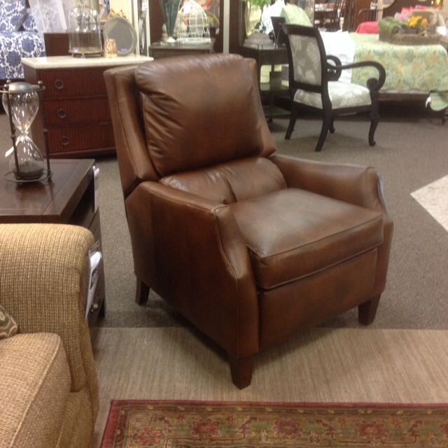 Great Leather Recliner By Thomasville The Max Is A Classic That