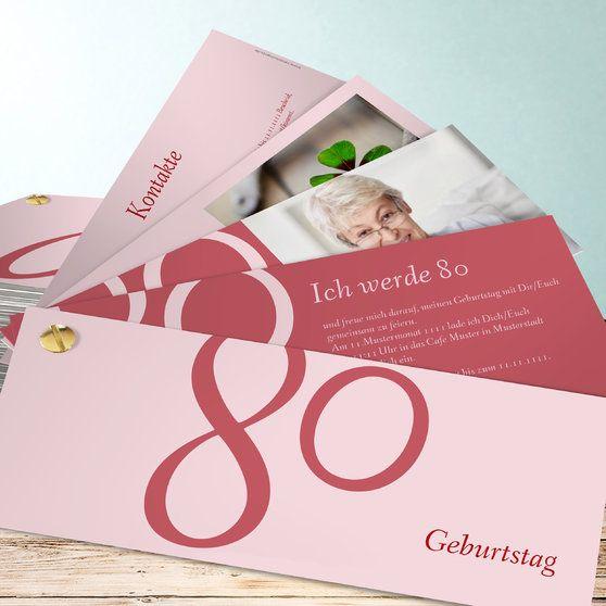 meine achtzig | einladungskarten 60. geburtstag, einladung