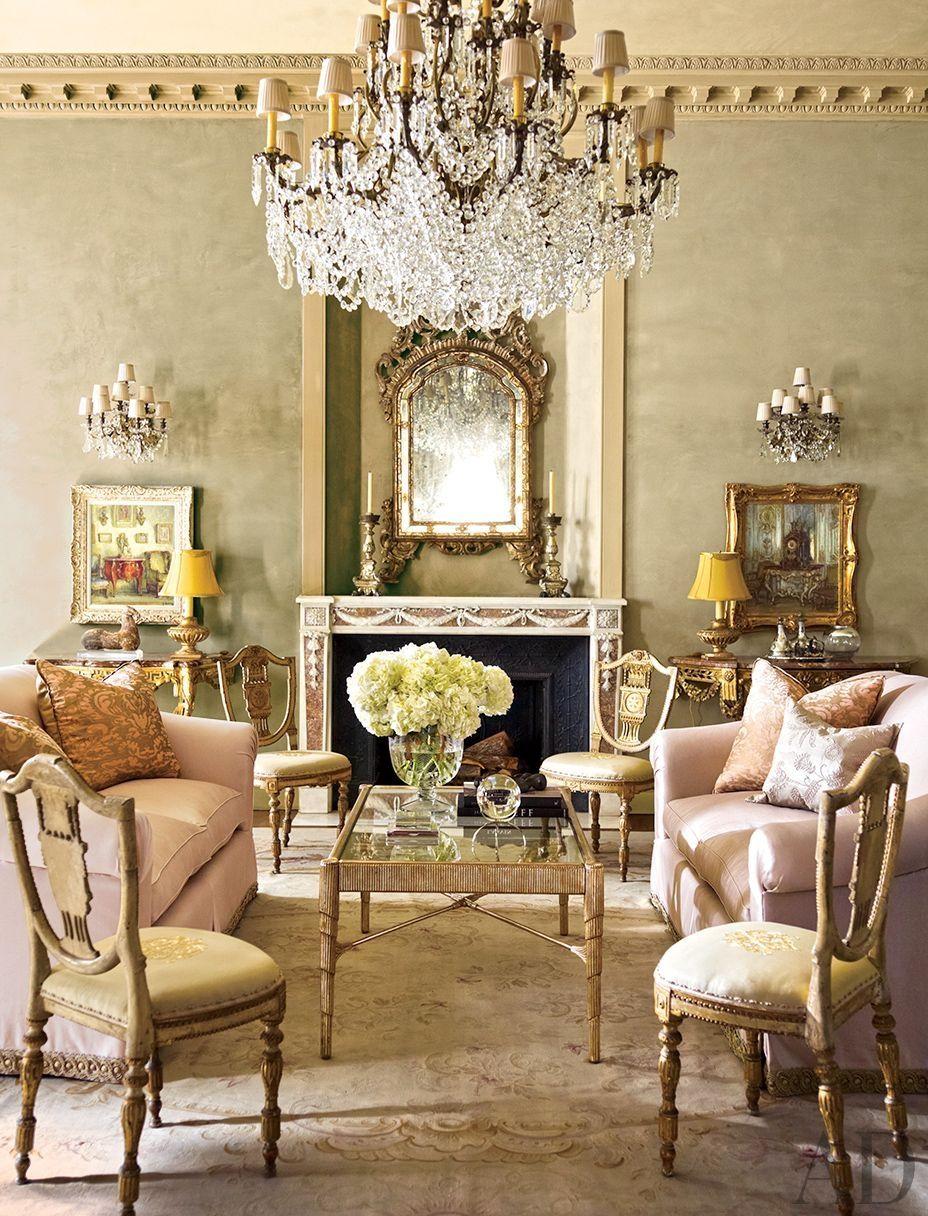 Pretty In Pink Via Archdigest Designfile Elegant Interiors Home Interior Design