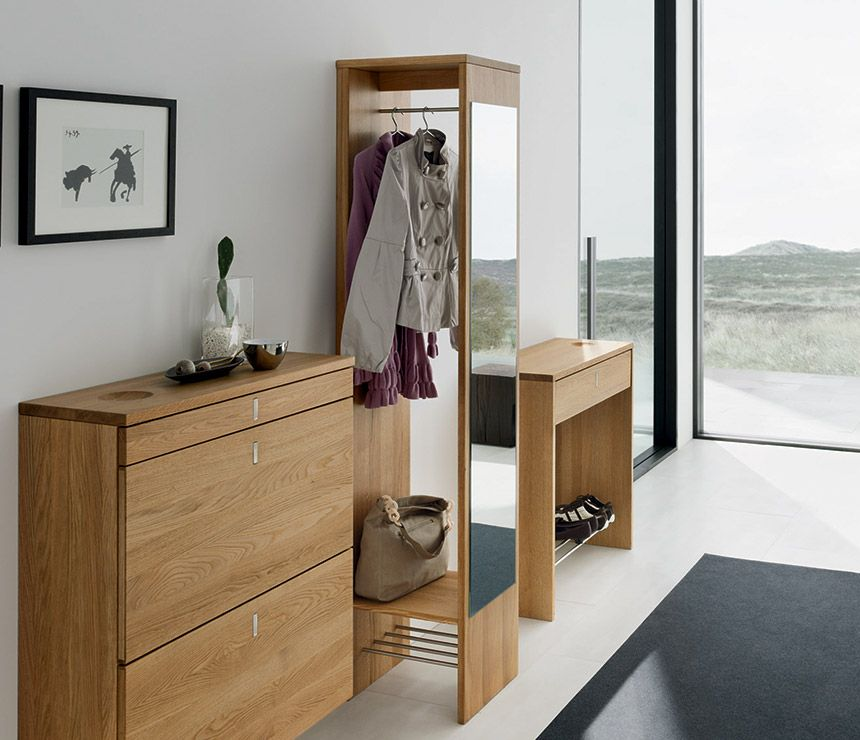 Luxury modern concealed coat rack - Team7 from Wharfside Design - Meuble Chaussure Avec Porte Manteau