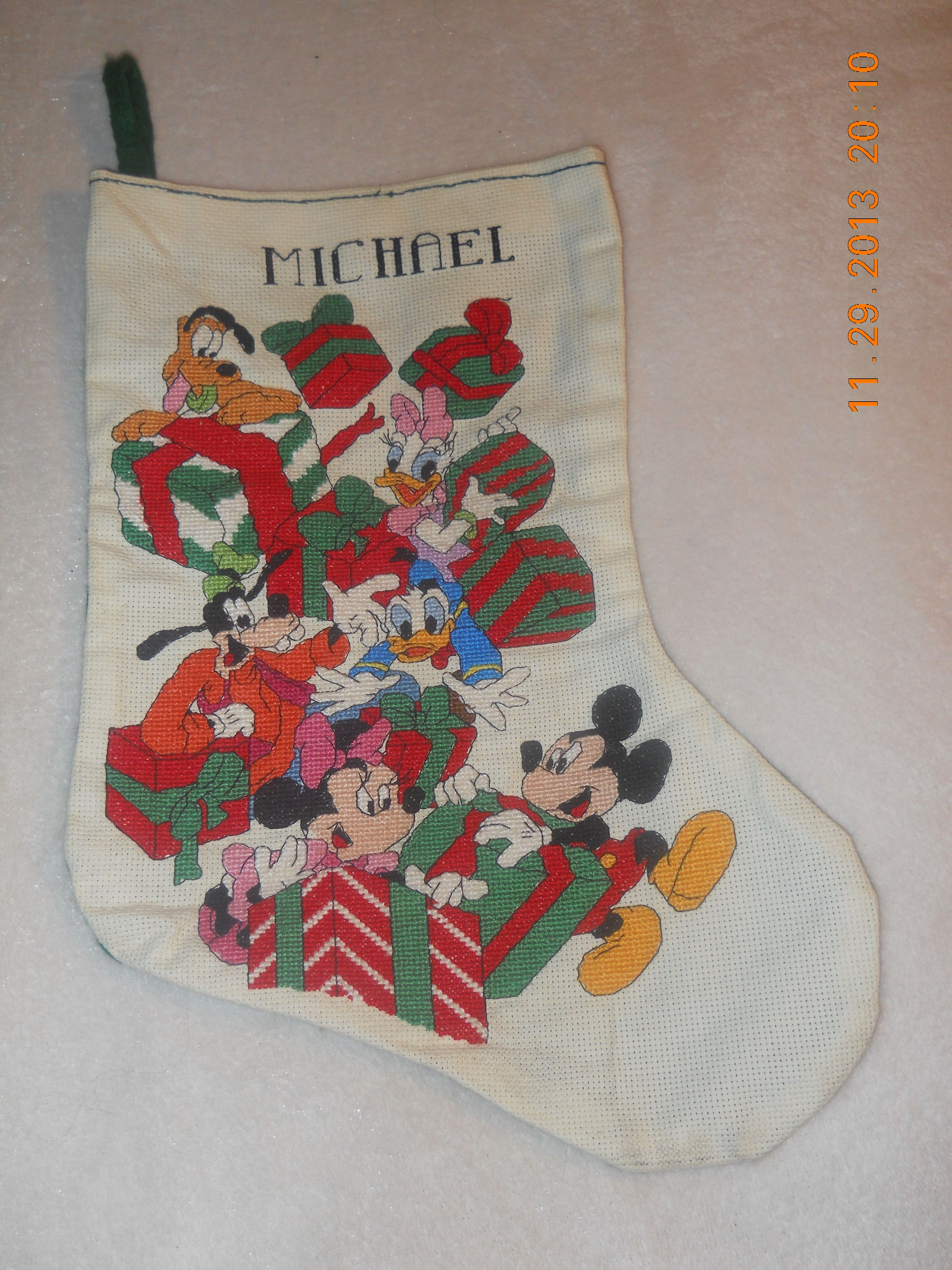 Our Grandson Michael's Christmas Stocking by David G. Sartain ...