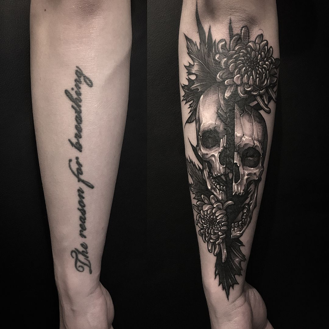 Idea by abby brown on tattoos forearm cover up tattoos