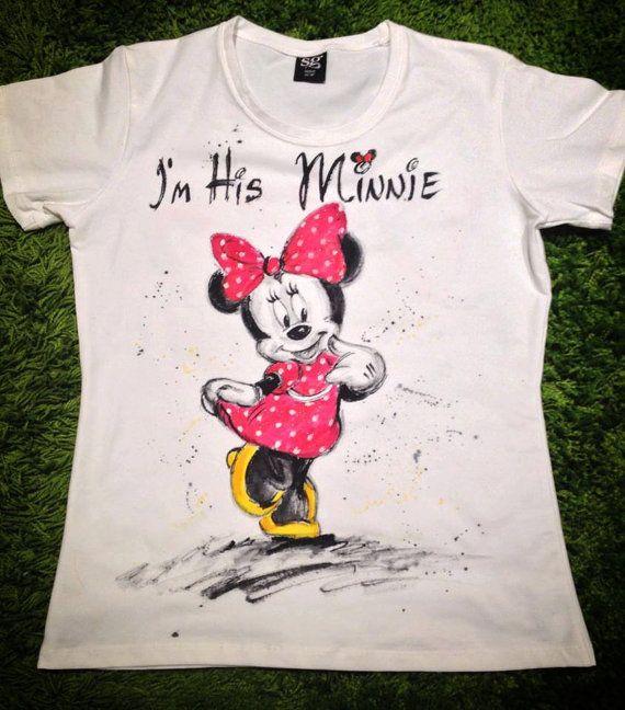 a4805d33c Minnie Mouse tshirt. Disney Princess tee. Love by palettePandora ...