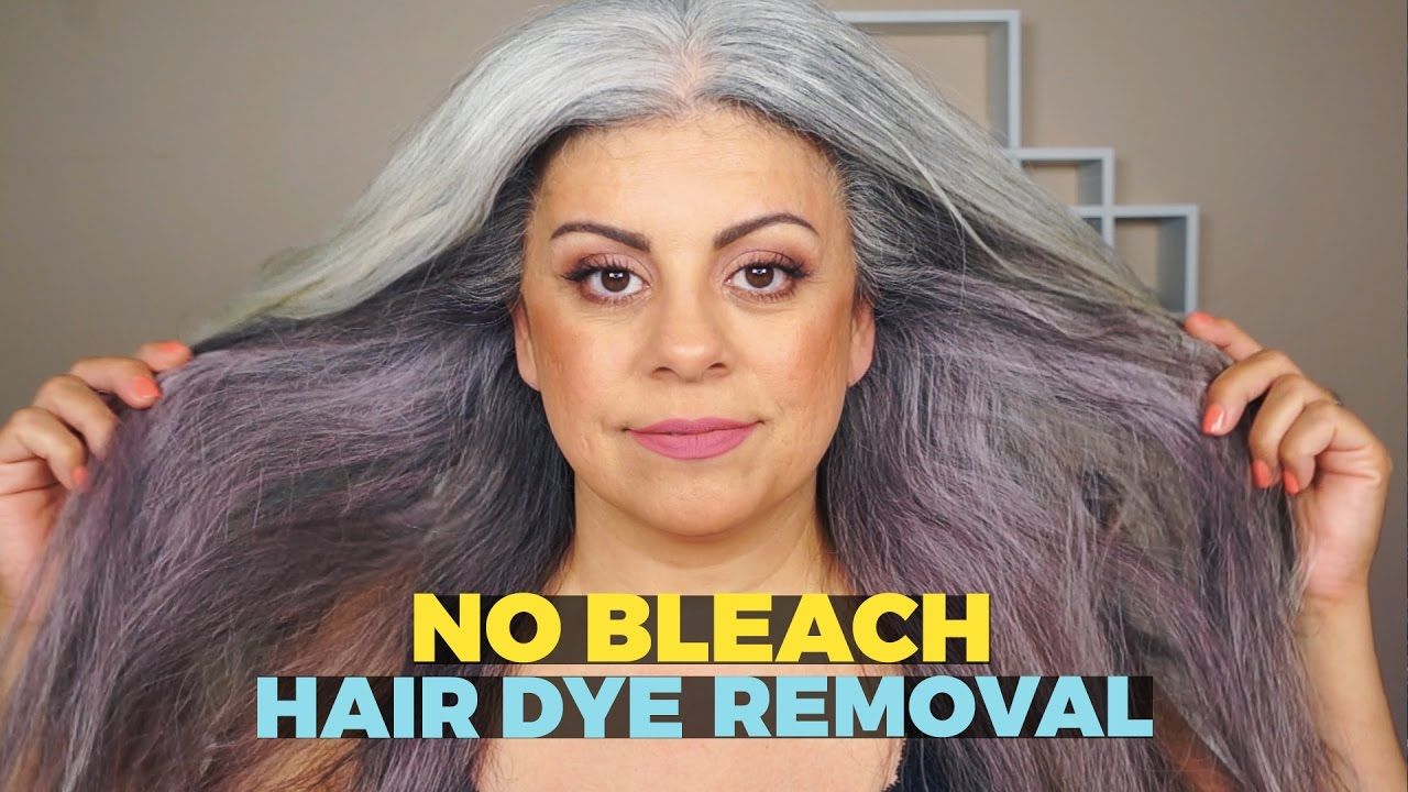 How To Remove Hair Dye Without Bleach Youtube Hair Dye Removal Removing Black Hair Dye Remove Permanent Hair Dye