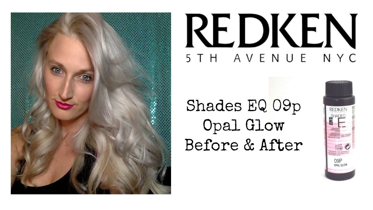 Redken Shades Eq 09p Trial Before After Redken Shades Beautiful Blonde Hair Redken