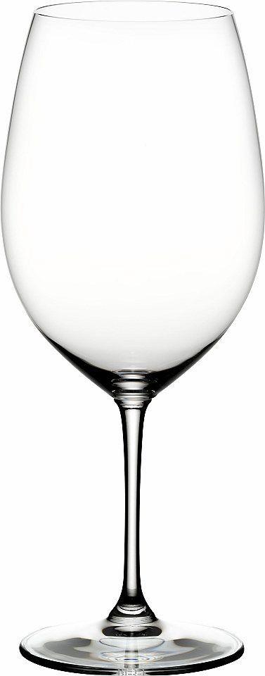RIEDEL GLASS Rotwein-Gläser-Set, Cabernet Sauvignon, 4 Teile, Made