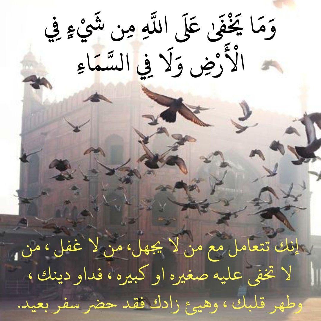 قرآن كريم آية لا يخفى على الله من شيئ في الأرض ولا في السماء Home Decor Decals Decor Home Decor