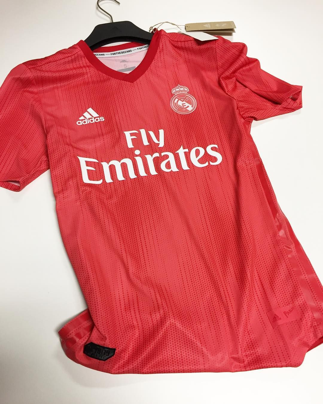 a4f80a741 Made from Parley ocean plastic. The 2018 19 adidas Real Madrid 3rd ...