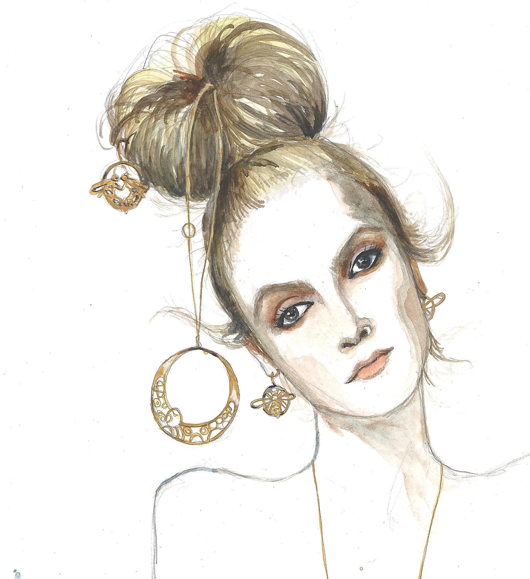 #Oria jewellery for @Amelia Gregory 's Amelia's Magazine