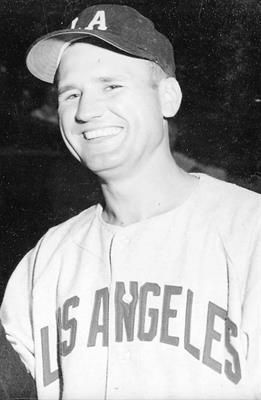 Robert Oberton Spicer (April 11, 1925 – February 27, 2016) was an American professional baseball player. He had a highly successful 15-season minor league career (1947–1961) but played only four games as a relief pitcher in Major League Baseball for the 1955–1956 Kansas City Athletics.   He spent four full seasons with the Los Angeles Angels of the top-level Pacific Coast League before the Athletics, newly transplanted from Philadelphia, selected  him in the 1954 Rule 5 draft.