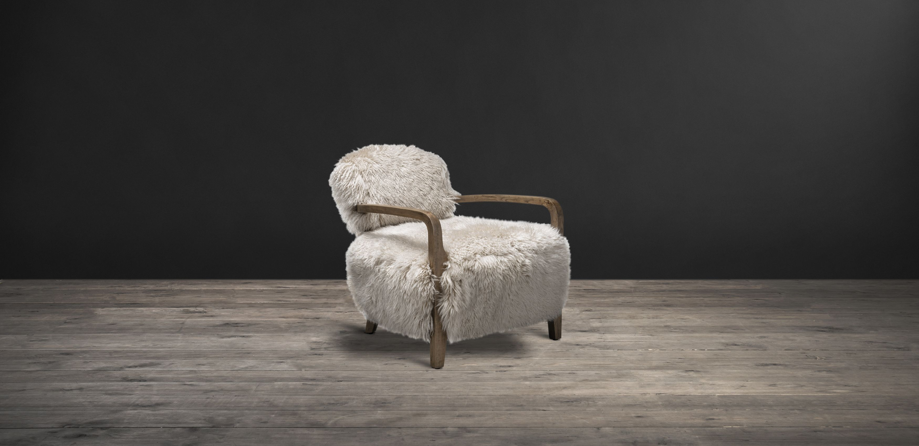 The Cabana Yeti Chair Is Made With Luxurious Thick Long Haired New Zealand Sheepskin Distinctive Furniture By Timothy Oulton Chair Armchair Furniture