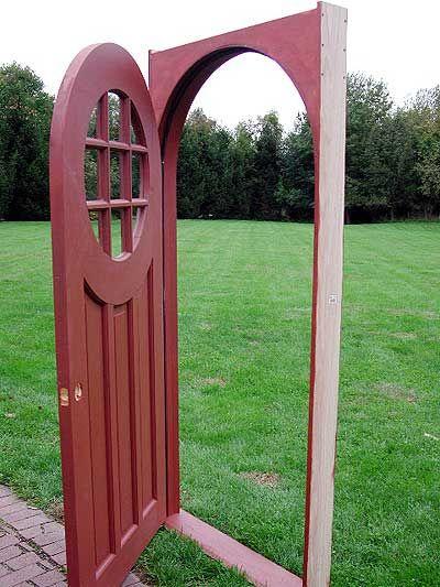 Beau Building An Arched Door Jamb