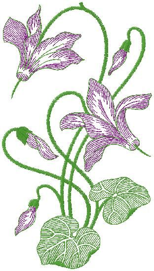 Floral Embroidery Design Машинная вышивка Embroidery