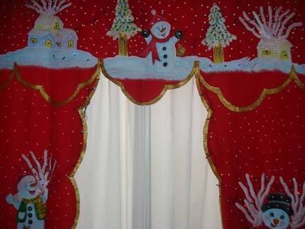 Resultado de imagem para cortinas navideñas con luces owen