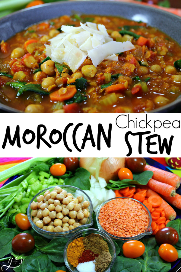 Moroccan Inspired Chickpea Stew
