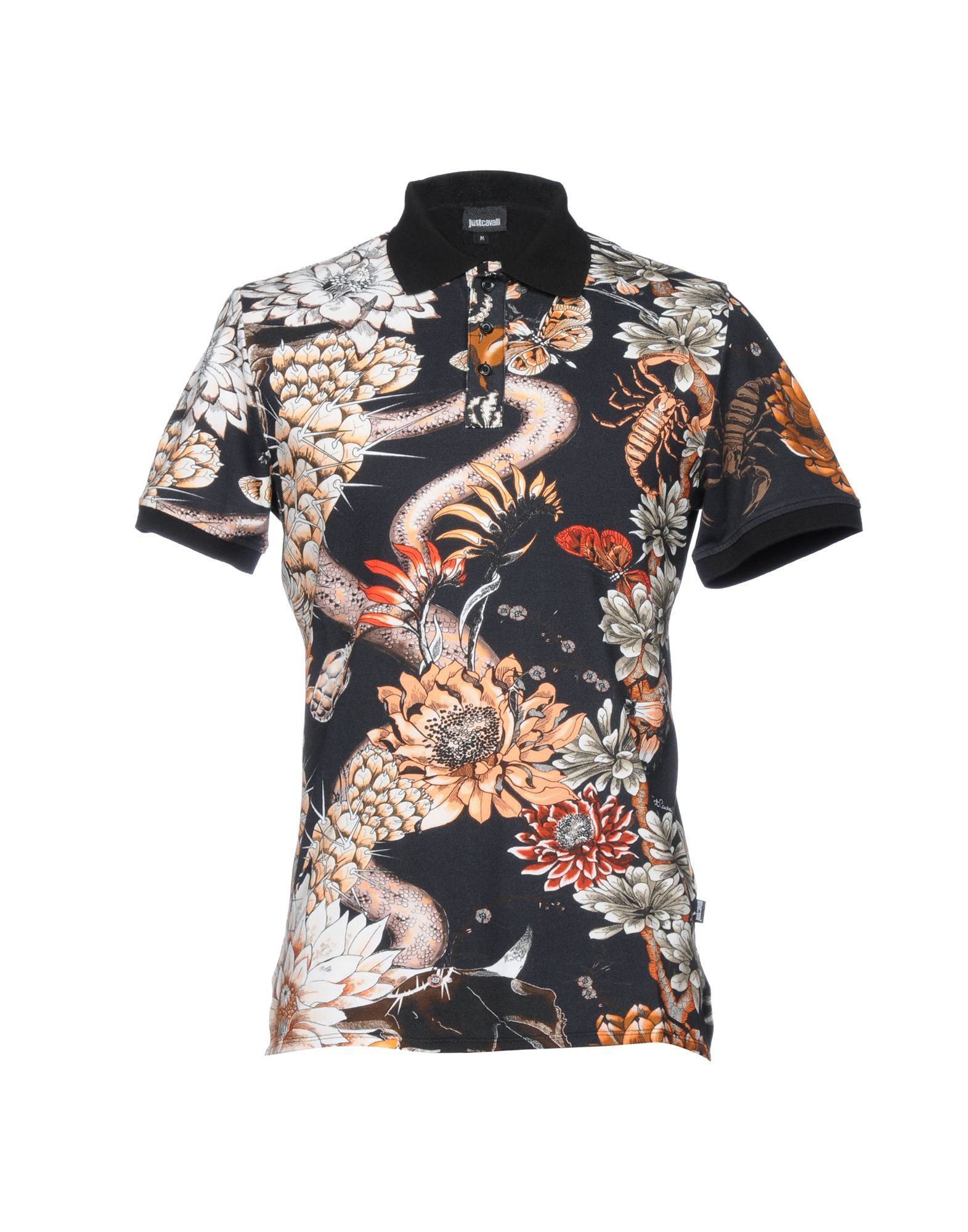 87a5bc79d JUST CAVALLI Polo shirt. #justcavalli #cloth # | Just Cavalli Men ...