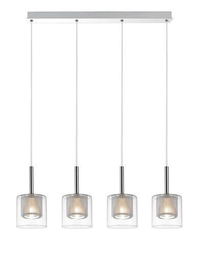 Dsi 4 light chrome pendant at menards