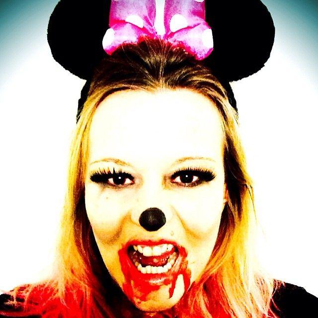 Halloween \'13 zombie Minnie Mouse | instagram ...