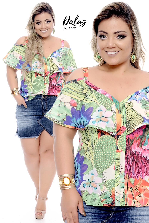 Regata Serena - Coleção Primavera Verão 2018 Plus Size -  daluzplussize b7bd9f7f642