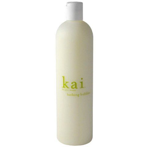 Kai Bathing Bubbles-16 oz. by Kai. $36.00. Bathing BeautyBubbles shouldn't just be whimsical features of a bath, they should work overtime in keeping your precious skin at its very best.Kai's Bathing Bubbles has all the necessary ingredients that will soften and moisturize your skin as you relax in a fragrant bath of bubbles.Moisturizes and cleansesAdds glowSoftens skinThis luxuriously foaming Kai-scented bubble bath blends moisturizing vitamin E-rich argan oil with naturally cl...