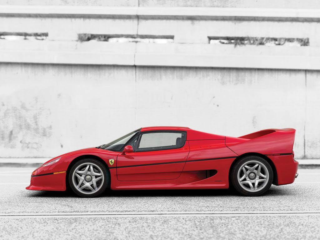 1995 Ferrari F50 V12 4 698 Cm 520 Bhp Design Pietro Camardella Pininfarina Voiture