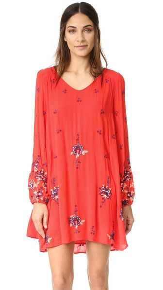 963988a3f06b FREE PEOPLE Oxford Embroidered Mini Dress. #freepeople #cloth #dress #top  #shirt #sweater #skirt #beachwear #activewear