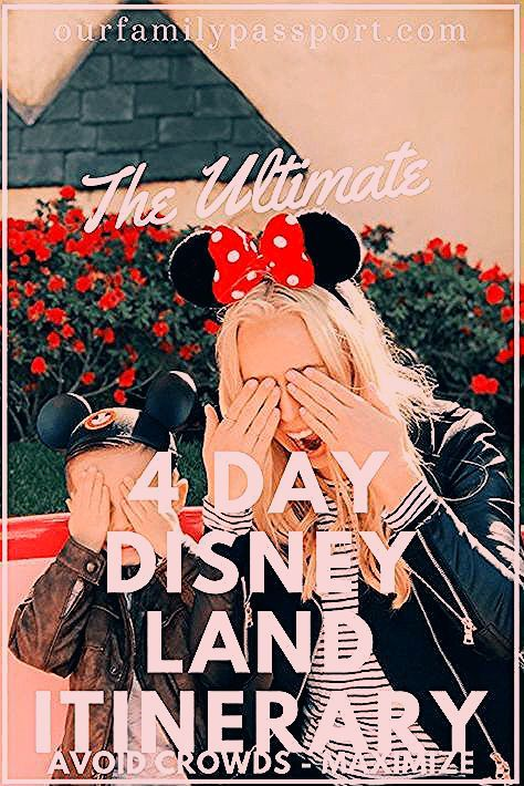 Photo of The Ultimate Disneyland Itinerary to Avoid Crowds | Our Family Passport