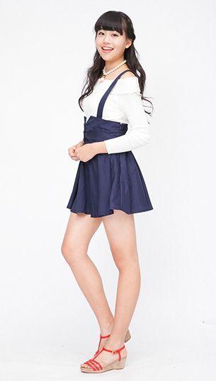 056ce024e73b55 フレアーな裾が可愛い♡ ◇中学生ファッション スタイルの参考コーデ ...
