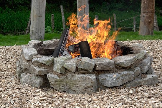 7 Super Simple Backyard Fire Pits You Can Make In A Weekend Fire