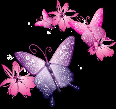 Vector Butterfly Png Butterflies Vector Pink Butterfly Butterfly
