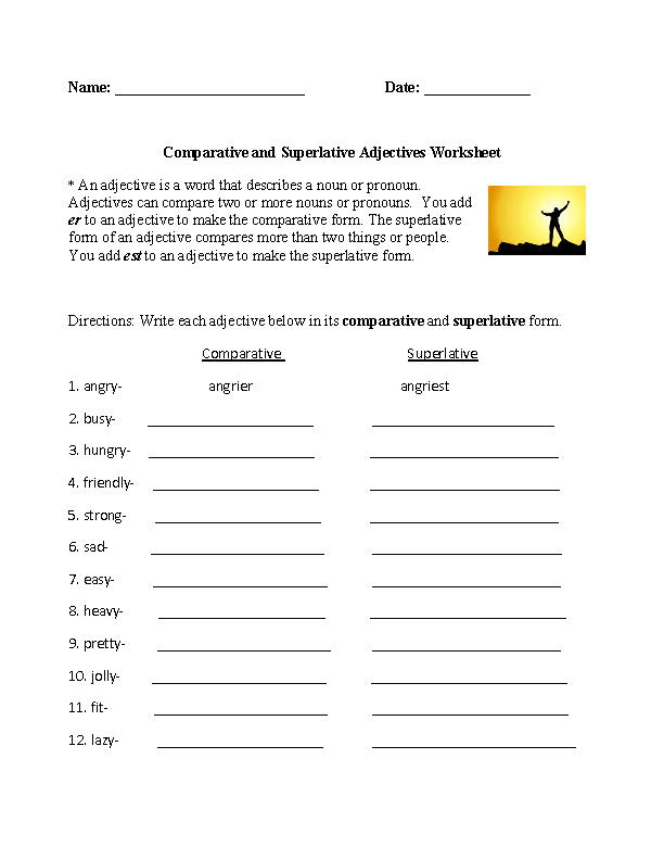 englishlinx.com | Adjectives Worksheets | Teacherlinx.com Board ...