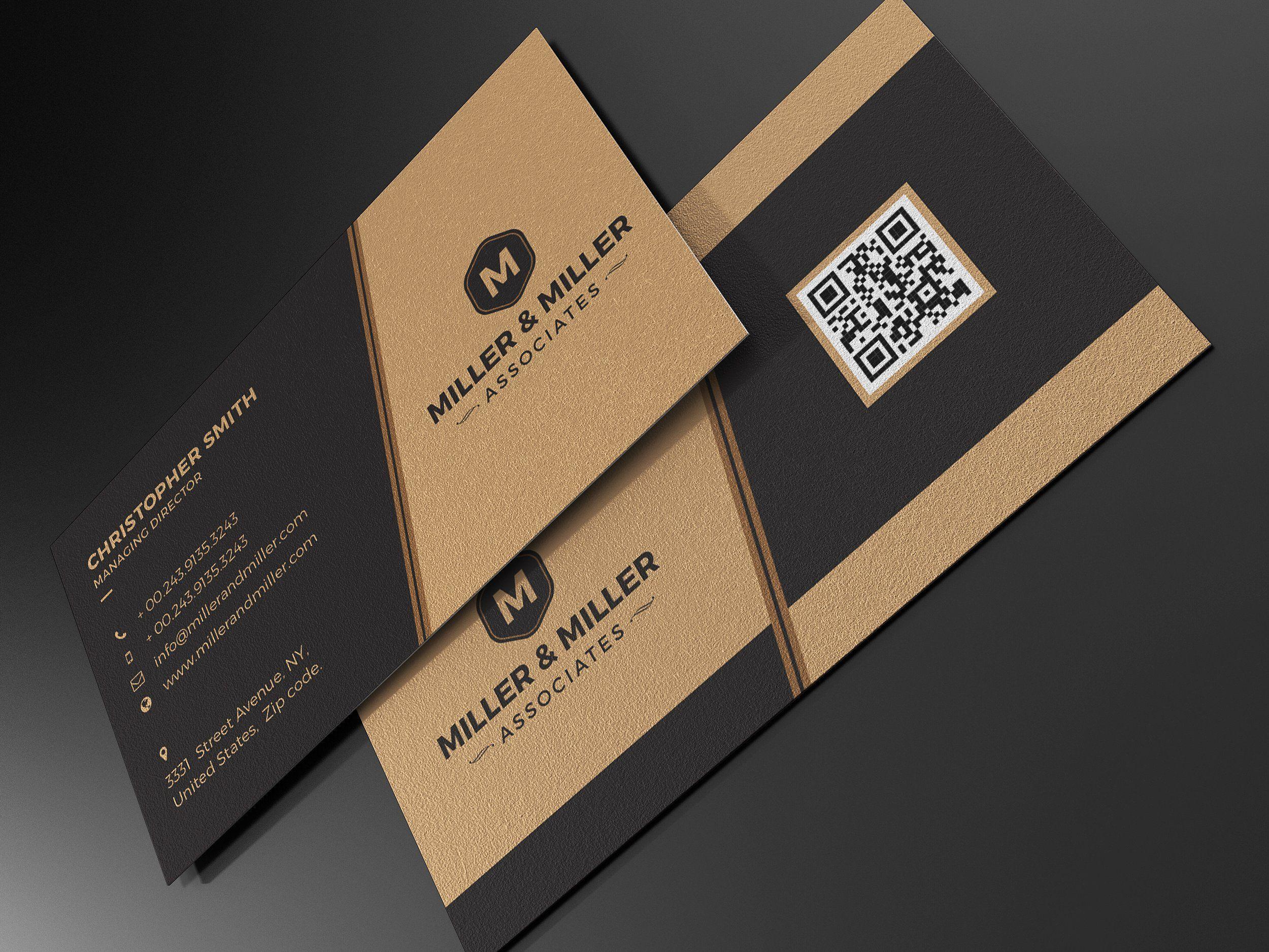 Kraft Paper Business Card Bundle   Kraft paper, Business cards and ...