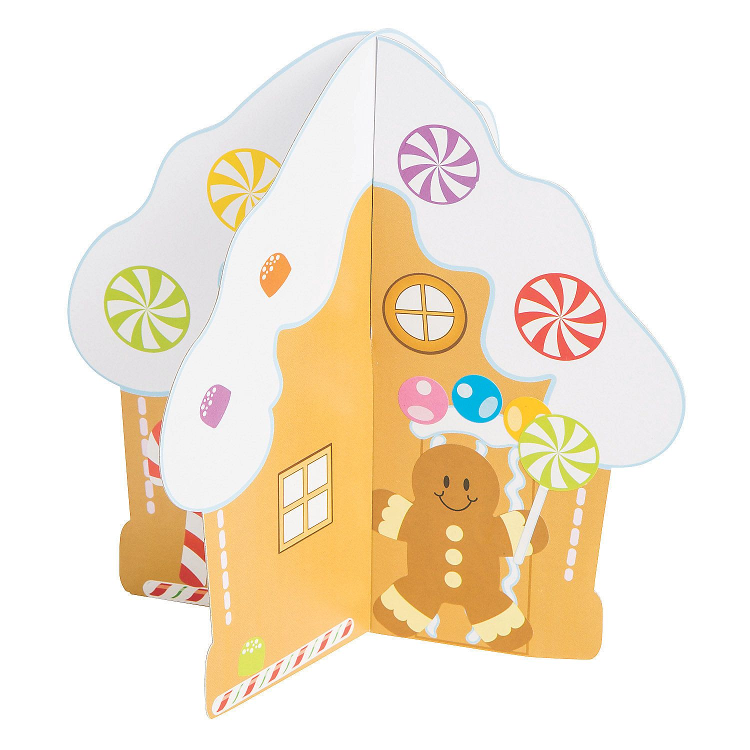 3d Gingerbread House With Stickers With Images