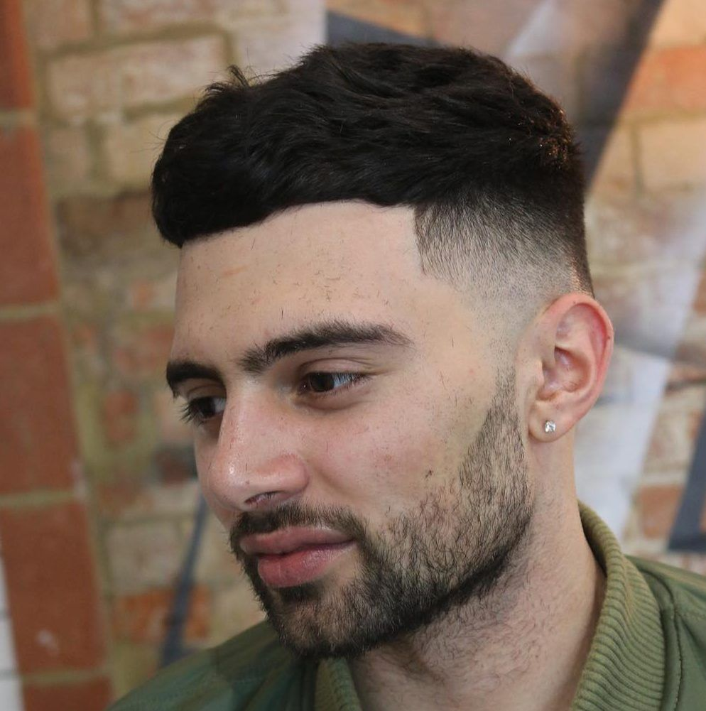 Short haircuts for men with thick hair  cool haircuts for men with thick hair short  medium  haircuts