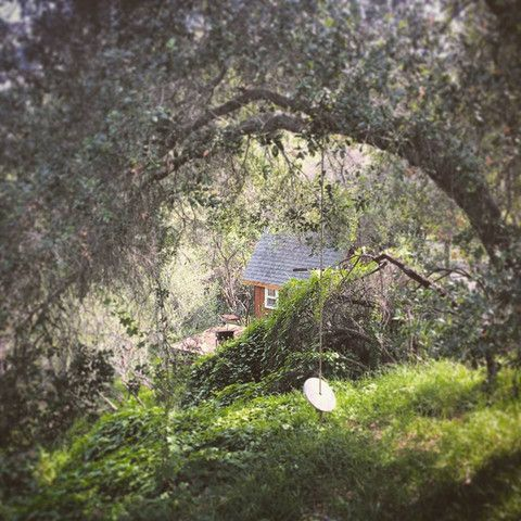 Faerie cabin retreat in the Santa Monica Mountains of Los Angeles.