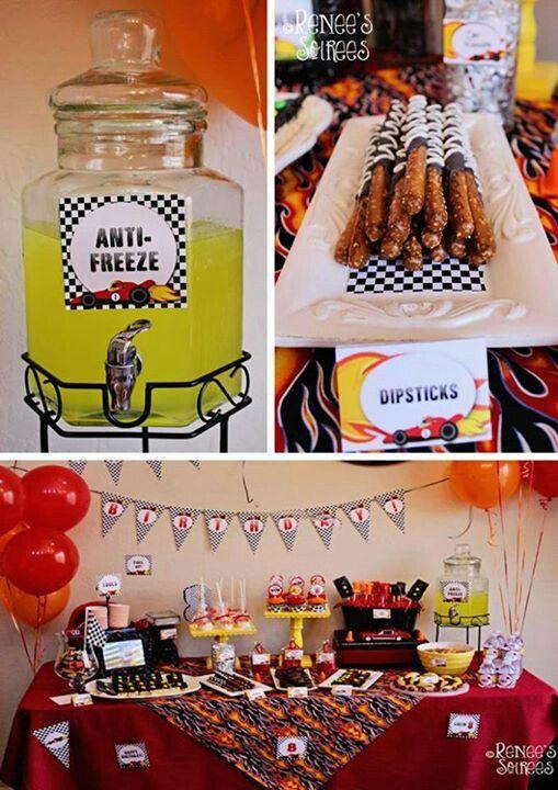 Race Car Birthday Party Planning Ideas Supplies Idea