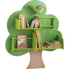 bcherregal baum bcherregale bibliothek schrnke regale mbel raumgestaltung krippe - Bcherregal Ideen Fr Kinder