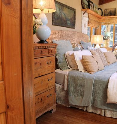 Adirondack Style Lodge Traditional Bedroom Los Angeles