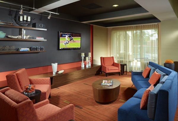 Kick Back And Relax In The Theater Area At Courtyard Fort Lauderdale Weston