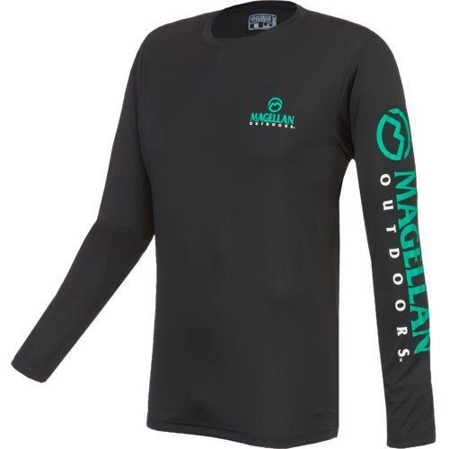0589eb2f86d Magellan Outdoors™ Men's Casting Crew Moisture Management Long Sleeve T- shirt