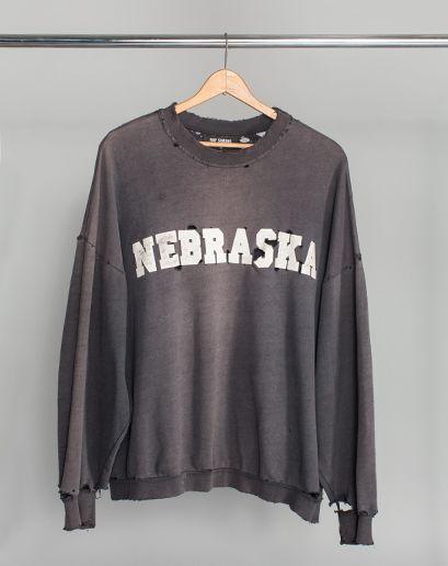 Nebraska sweatshirt from Raf Simons' Fall/Winter 2002 Virginia Creeper collection