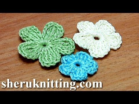 Crochet Fluffy Flower Tutorial 9 Große Blume Häkeln Youtube