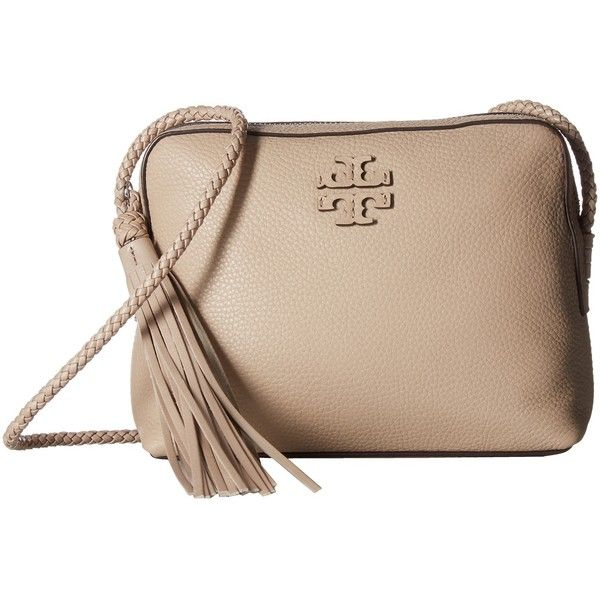 1c51106b9104b Tory Burch Taylor Camera Bag (Soft Clay) Bags ( 358) ❤ liked on Polyvore  featuring accessories