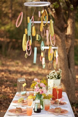 A pancake bridal shower! Party Decorating Ideas Pinterest