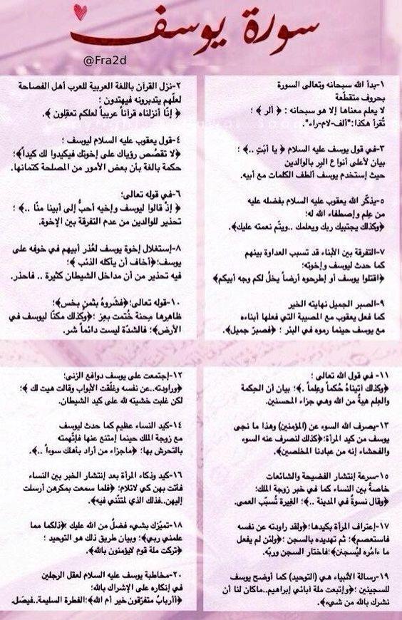 ١ تأملات في سورة يوسف Quran Tilawat Holy Quran Quran