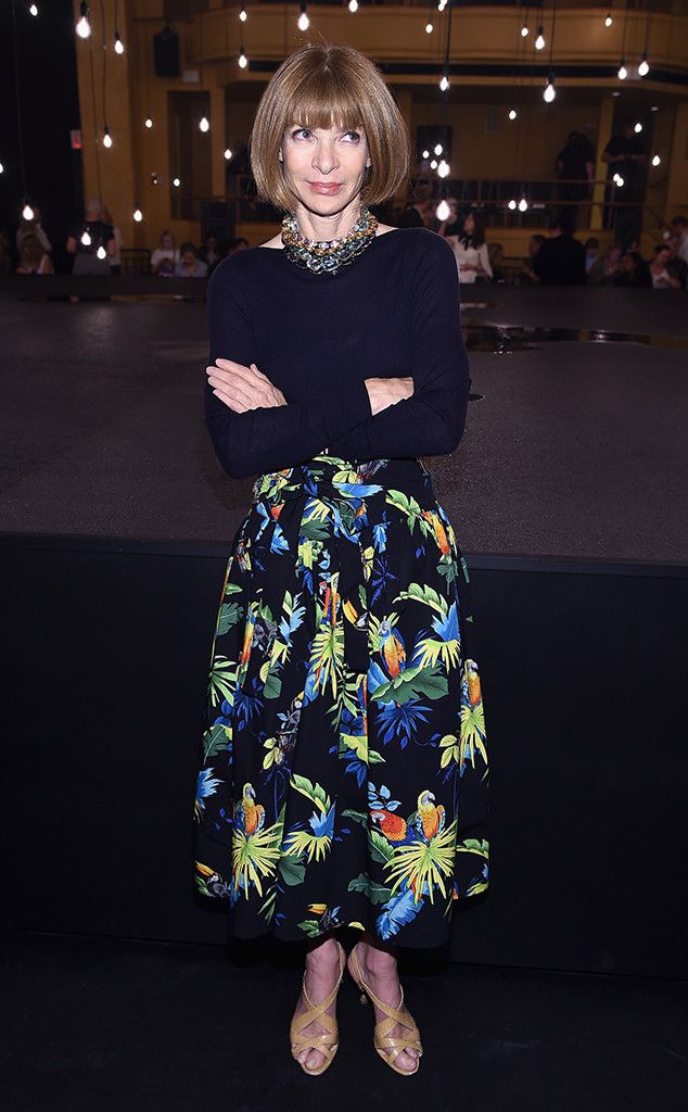 de7729b3ebe7 Anna Wintour from The Big Picture: Today's Hot Pics The fashion legend  attends the Marc Jacobs Spring 2017 fashion show during New York Fashion  Week in NYC.