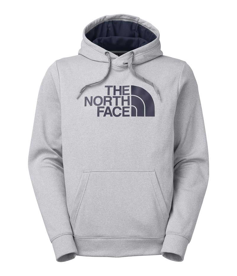 421ea66c1 The North Face Surgent Half Dome Hoodie for Men in Light Grey A6S8 ...