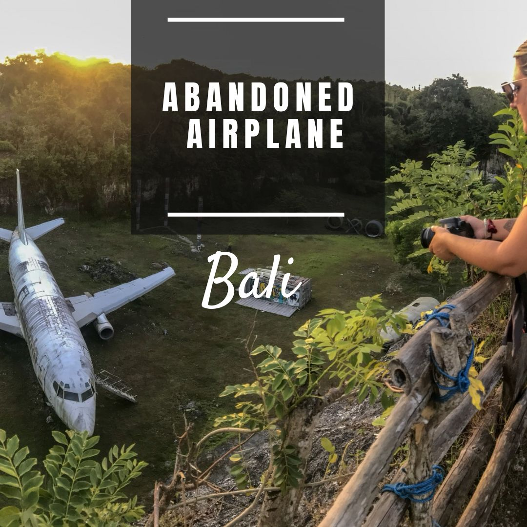 Bali's Abandoned Plane And How To Get There! #bali