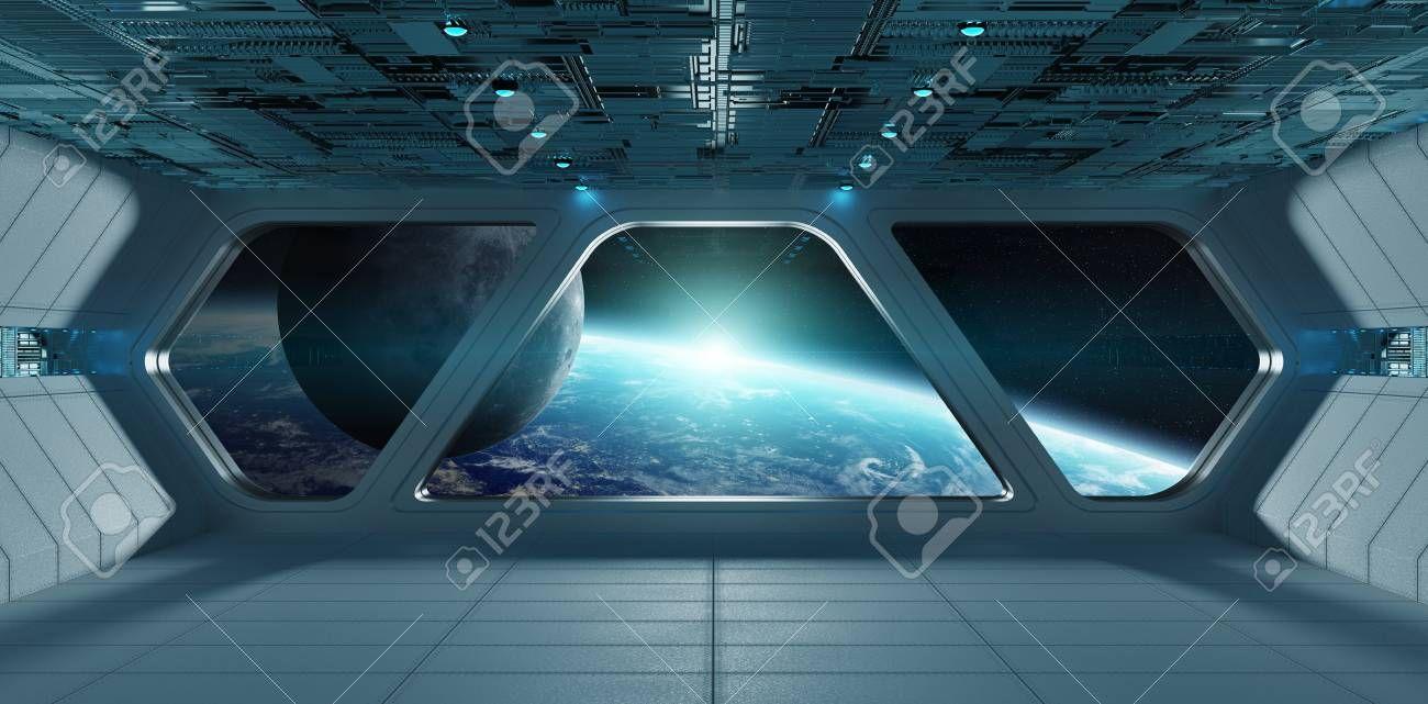 Stock Photo in 2020 Spaceship interior, Futuristic